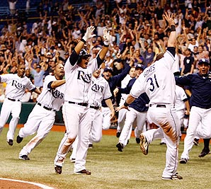 The Rays know how to celebrate